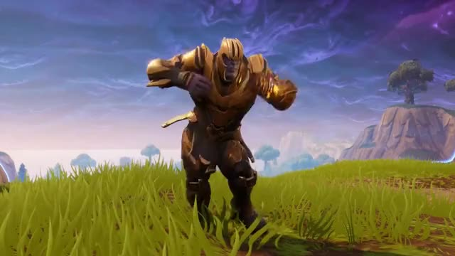 Watch 10 Hours THANOS DANCE TO ORANGE JUSTICE GIF on Gfycat. Discover more dancing, fortnite GIFs on Gfycat