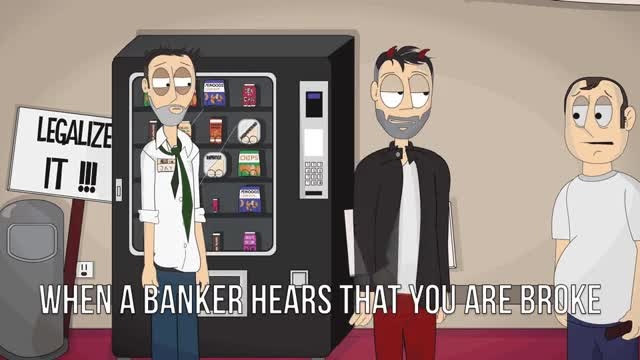 Watch Banks suck GIF by @ohreally on Gfycat. Discover more bank, broke, god inc., godinc, soul GIFs on Gfycat