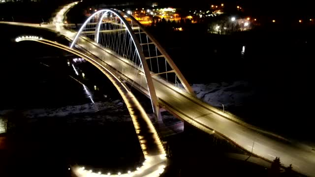 Watch and share Walterdale Bridge Edmonton GIFs on Gfycat