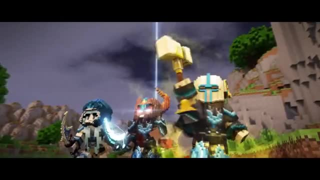Warlords: Domination - Cinematic Trailer [Minecraft Animation] GIF