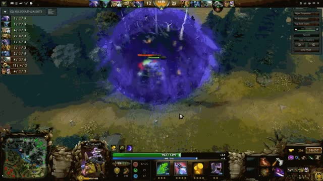 Watch and share Alchemist Farms Aghanim's Scepters For Entire Team (reddit) GIFs on Gfycat