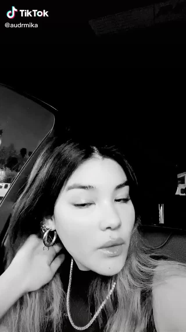 Watch and share Audreymika On TikTok GIFs by katelyn on Gfycat
