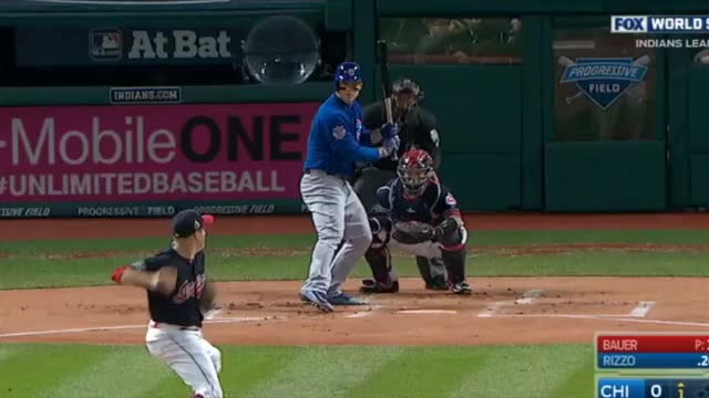 Watch Rizzo Hits Front Door Sinker GIF by @enosarris on Gfycat. Discover more cubs, mlb GIFs on Gfycat