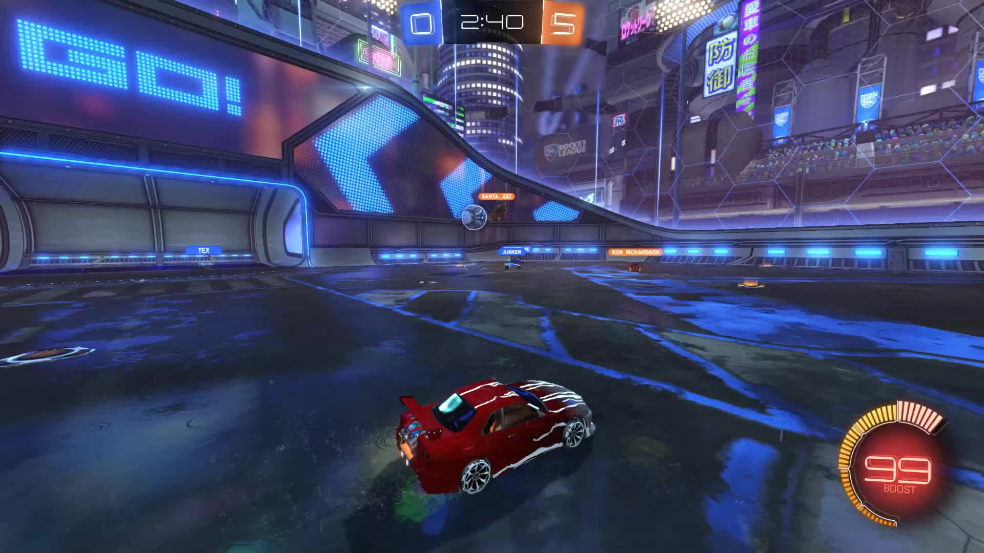Gif Your Game, GifYourGame, Rocket League, RocketLeague, SCOTLAND FOREVER, Goal 6: SCOTLAND FOREVER GIFs