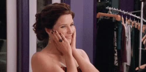 awww, blush, shucks, sophia bush, Sophia Bush Awww GIFs