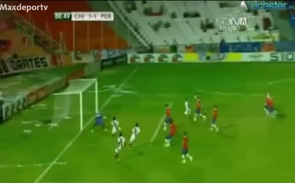 Watch and share Comentarista Argentino: A Los Chilenos Se Les Paró El Corazón. Gol Anulado De Reyna Sub 20 GIFs on Gfycat