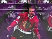Watch and share Excited, Happy, Kane, Blackhawks, Disco GIFs on Gfycat