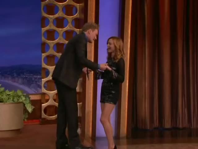 Watch and share Heather Graham GIFs and Conan O'brian GIFs on Gfycat