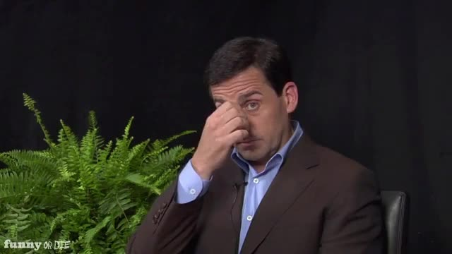 Watch nose pinch Steve Carrell GIF by Funny Or Die (@funnyordie) on Gfycat. Discover more FoD, Funny or die, FunnyOrDie, Steve Carell, between two ferns steve, between two ferns with Zach Galifianakis: steve carell GIFs on Gfycat