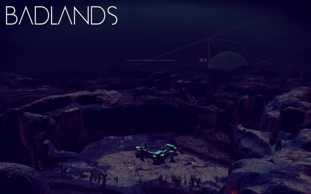 Watch Badlands GIF by @ianm32 on Gfycat. Discover more nomanssky, nomansskythegame, timelapse GIFs on Gfycat