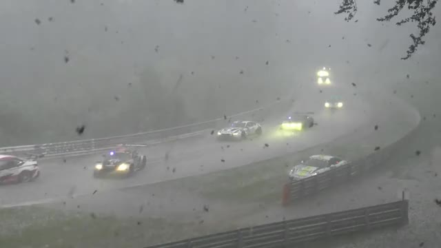Watch and share 24h Nürburgring Nordschleife Chaos Crash & Red Flag Snow Rain And Ice GIFs on Gfycat