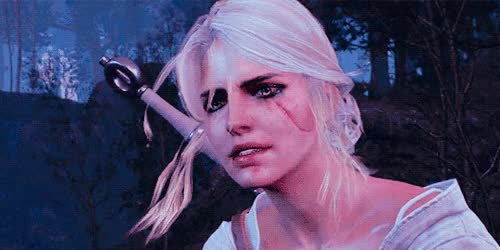 Watch and share Ciri GIFs on Gfycat