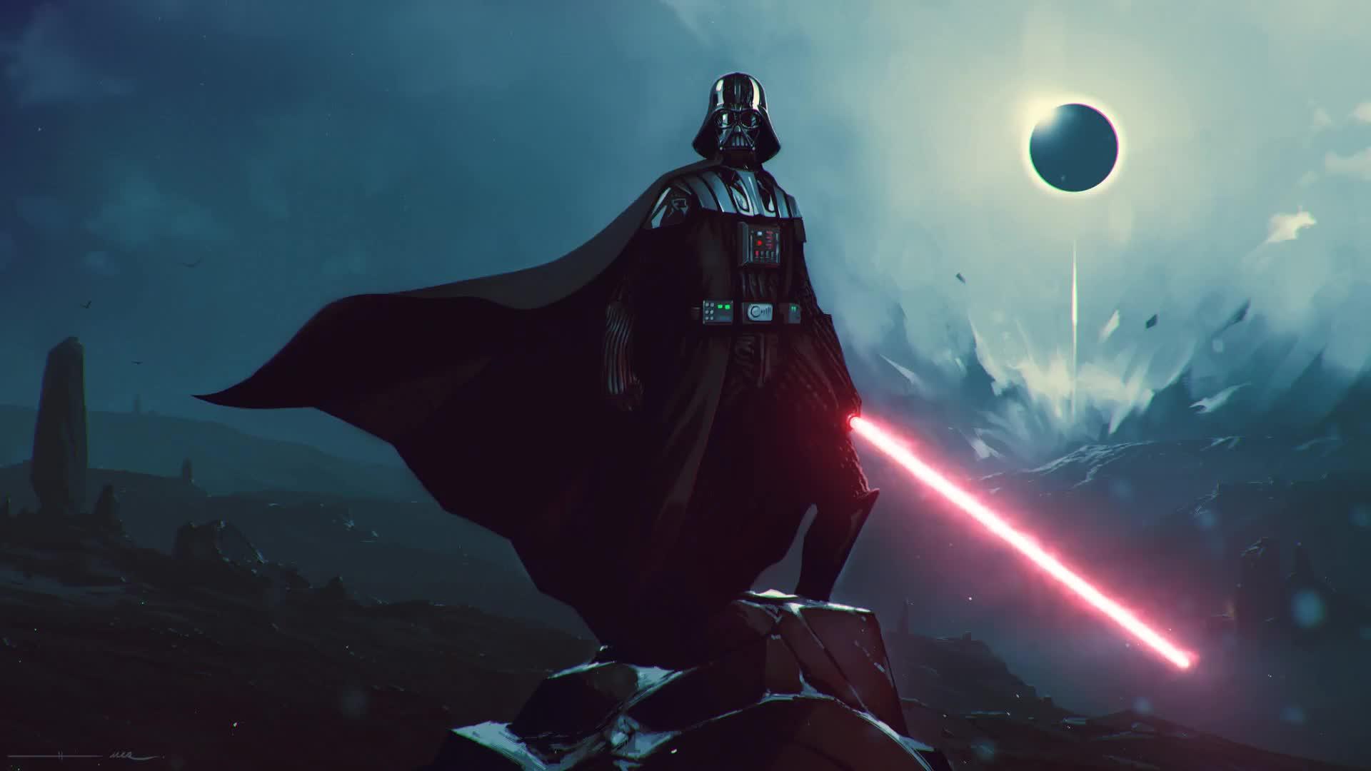 Star Wars Darth Vader Live Wallpaper Gif Gfycat