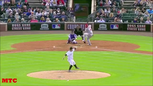 Watch and share Baseball Highlights GIFs and Sports Highlights GIFs by SLR107FR31 on Gfycat