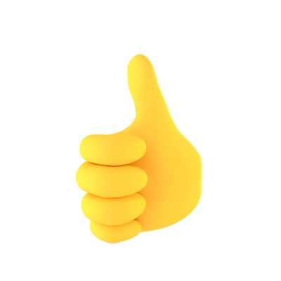 Watch and share Thumbs Up GIFs and Emoji GIFs by cliply on Gfycat