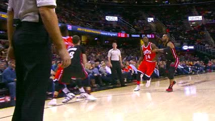 Watch and share Iman Shumpert — Cleveland Cavaliers GIFs by Off-Hand on Gfycat