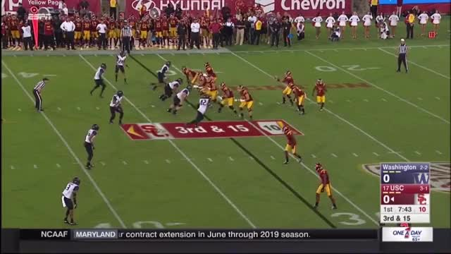 Watch and share Washington Huskies GIFs and Usc Trojans GIFs by mbrown5082 on Gfycat