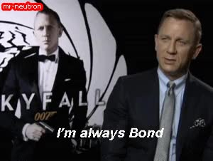Watch this 007 GIF on Gfycat. Discover more 007, daniel craig, james bond GIFs on Gfycat