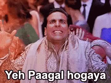 Watch and share The Popular Paagal Akshay GIFs on Gfycat