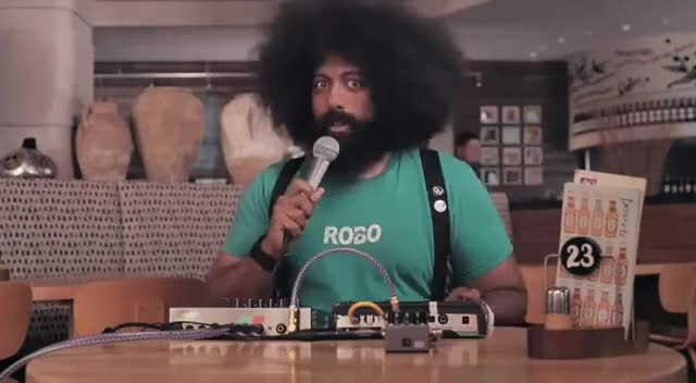 Watch and share Reggie Watts GIFs and Funny GIFs on Gfycat