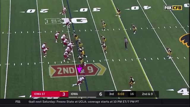 Watch and share Hakeem Butler 2018 GIFs and Cfb Game Tape GIFs on Gfycat