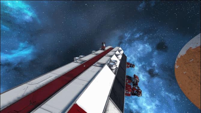 missilegfys, spaceengineers, Komodo VLS Launch GIFs
