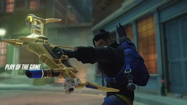 Watch and share Overwatch GIFs and Hanzo GIFs by crypticwaat on Gfycat