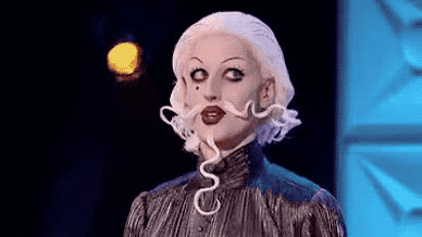 bitch, drag, eye, eye roll, god, irony, lol, my, oh, omg, please, queen, race, roll, seriously, Epic eye roll GIFs