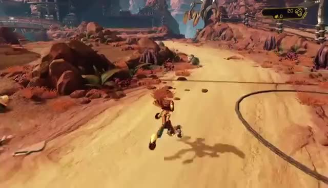 Ratchet & Clank (2016) playthrough pt1 - THOSE VISUALS!/Ratchet & Clank's Intro Tutorials GIFs