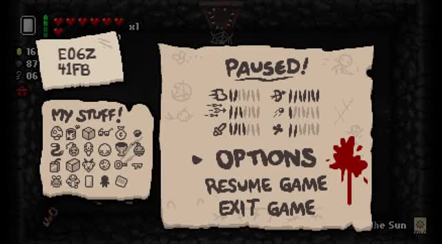 Watch and share Isaac: Rebirth - Leaving A Curse Room Classy GIFs by gibonus on Gfycat