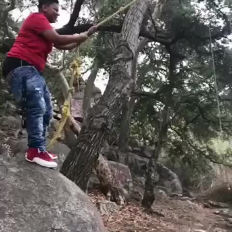 Watch Guy Can't Swing on Rope - 987169 GIF by Slim Jones (@slimjones123) on Gfycat. Discover more related GIFs on Gfycat