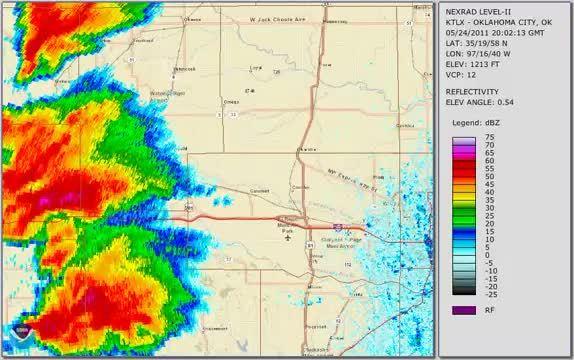 May 24 2011 El Reno Tornado Radar Loop Reddit