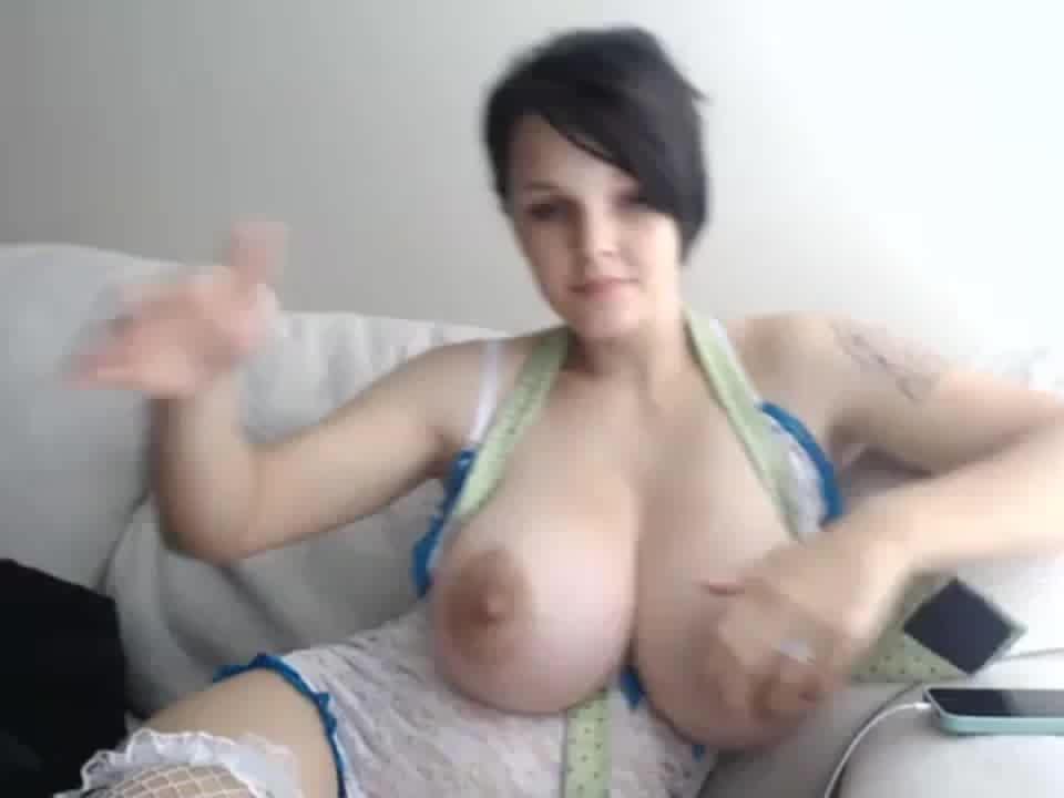 Webcam big tits elise