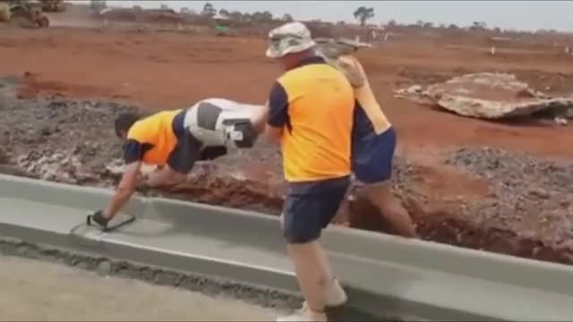 Watch OSHA Nightmares Compilation GIF on Gfycat. Discover more Compilation, clipwreck, osha, satire, workers GIFs on Gfycat