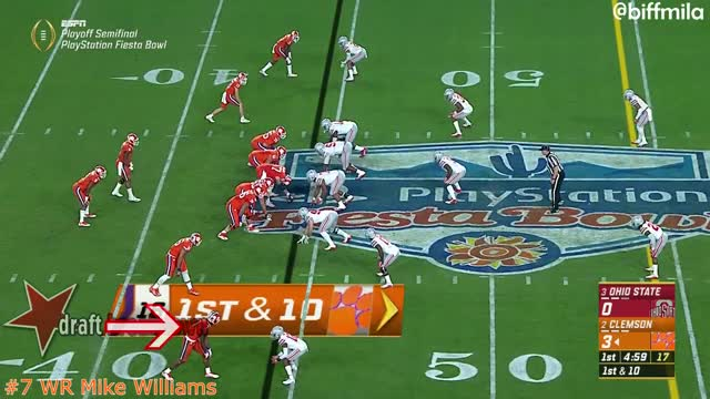 Watch and share Mike Williams (Clemson) Vs. Ohio State (2016) GIFs on Gfycat