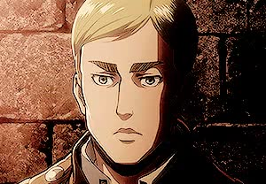 Watch Erwin in episode 13 GIF on Gfycat. Discover more *, *snk, 1k, enerjaeger, erwin smith, kirschthirsty, oh-my-levi, snkedit, snkgraphic GIFs on Gfycat