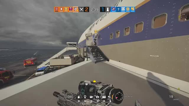 Watch and share Rainbow 6 Siege GIFs and Kill GIFs by Overwolf on Gfycat