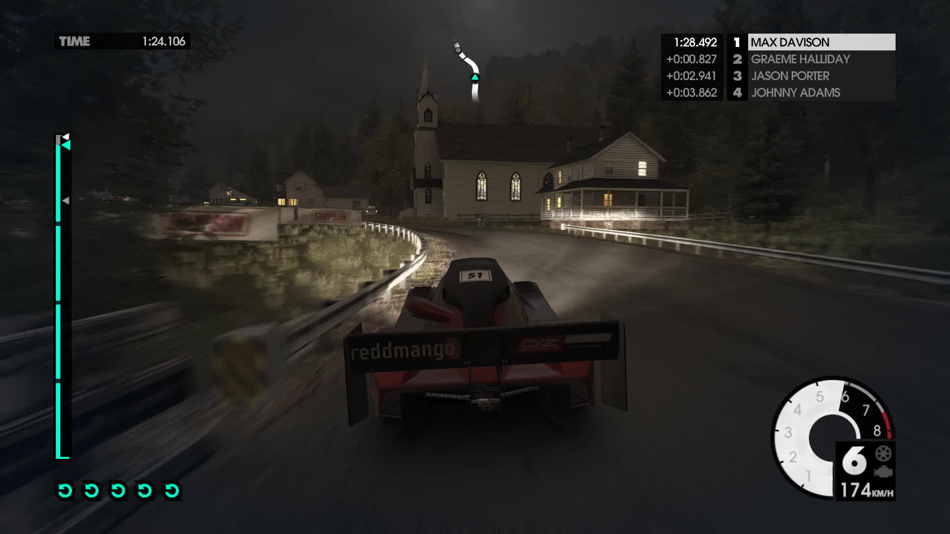 Dirt 3 Flashback, Unexpected GIFs