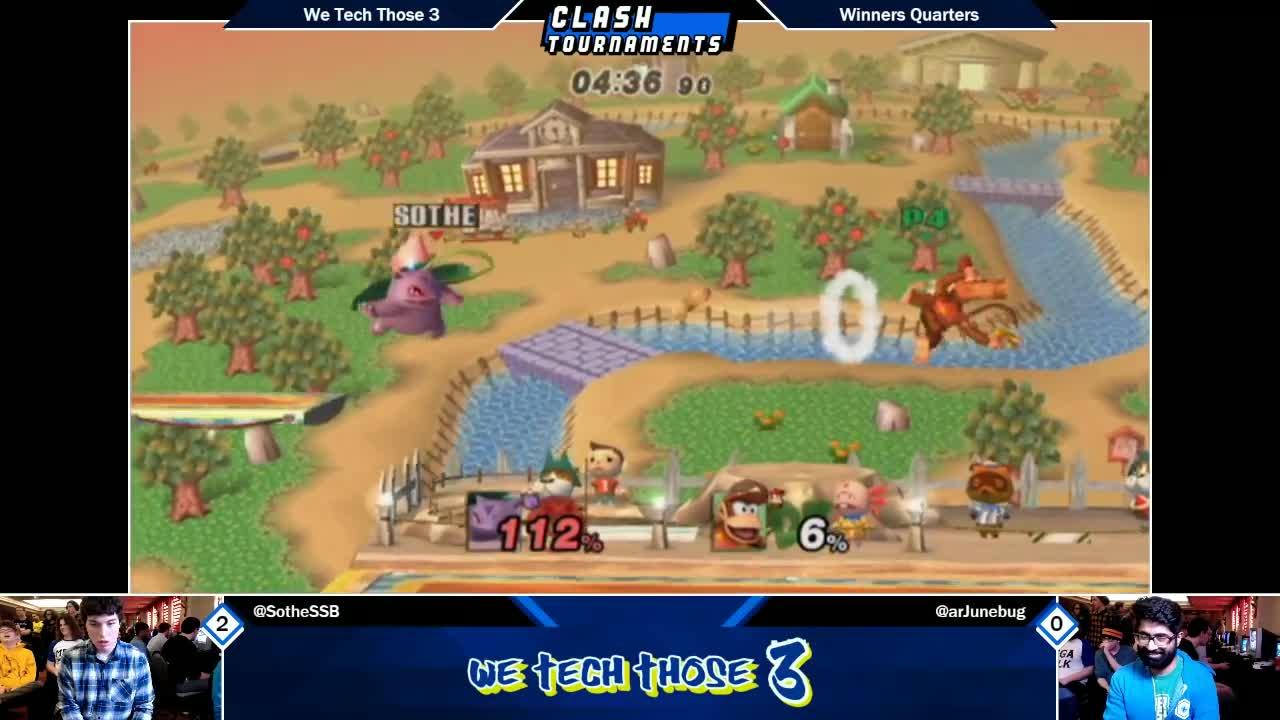 diddy kong, ivysaur, junebug, junebug diddy kong, junebug vs sothe, project m, project m (video game), project m 3.6, project m diddy kong, project m ivysaur, project m junebug, project m sothe, project m tournament, smash bros, smash bros tournament, smash tournament, sothe, sothe ivysaur, super smash bros, super smash bros. (video game series), Project M - Junebug (Diddy Kong) vs Sothe (Ivysaur) - We Tech Those 3 Winners GIFs
