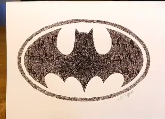 batman, haha, Batman Disappearing Ink Art GIFs