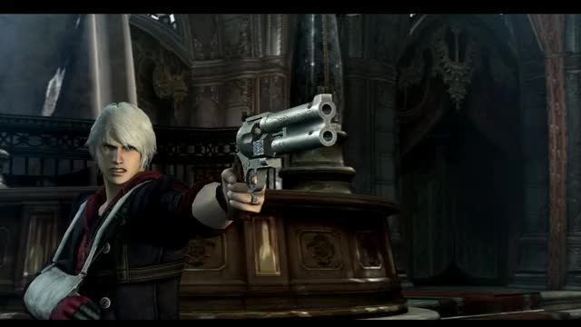 Watch and share Nero Vs Dante GIFs and Blue Rose GIFs on Gfycat