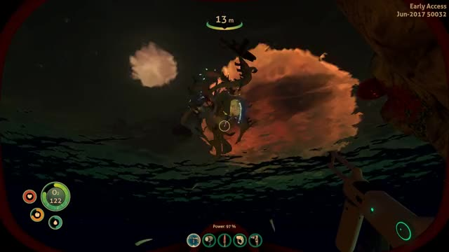 Watch and share Subnautica | Reaper Leviathan Crashes The Party GIFs on Gfycat