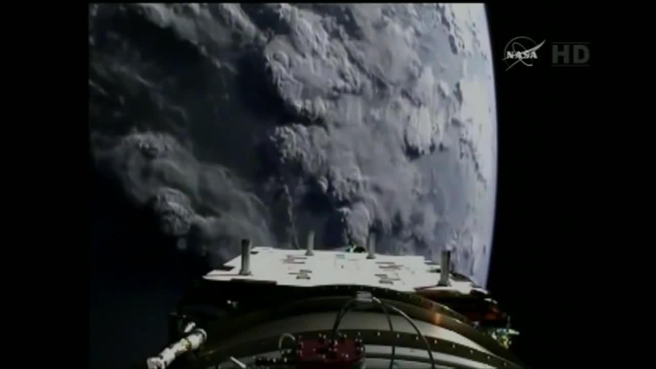 MissileGfys, missilegfys, [Delta II] SMAP Spacecraft Separates from Delta II Upperstage (reddit) GIFs