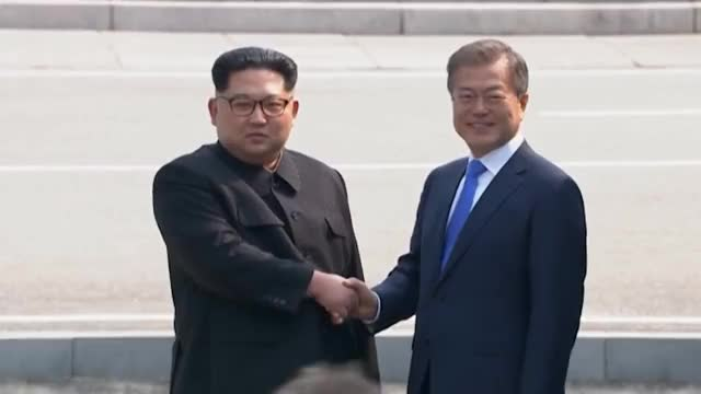 Watch this kim jong un GIF on Gfycat. Discover more AP, All Tags, Asia, Crosses, Finance, MOON, Reports, Un, all tags, ap, asia, business, commentary, crosses, finance, greets, headlines, international, jong, kim, moon, national, news, panmunjom, politics, reports, south, un GIFs on Gfycat