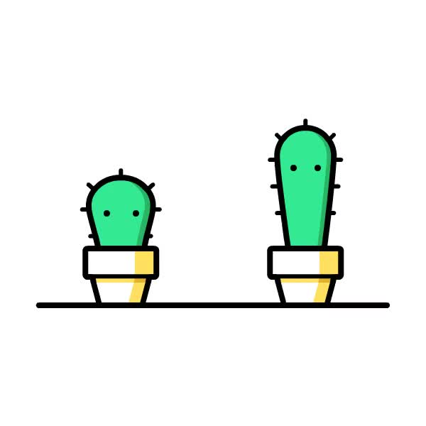 Watch and share Cacti Gif GIFs on Gfycat