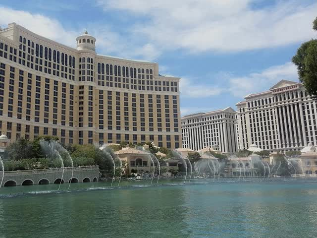 Watch and share Bellagio Fountain Show The Strip Las Vegas Nevada GIFs on Gfycat