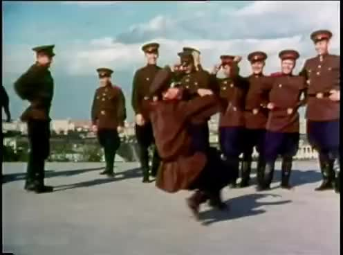 """Watch and share """"Soldier's Dance"""" - The Alexandrov Ensemble (1965) GIFs on Gfycat"""