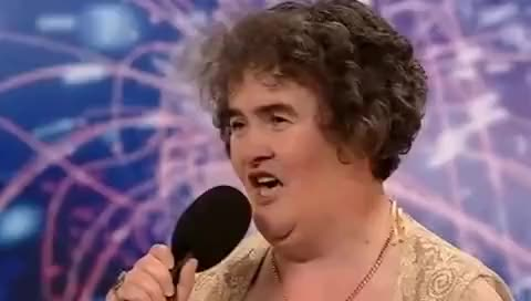 Watch Britain's Got Talent - Susan Boyle First Audition GIF on Gfycat. Discover more related GIFs on Gfycat