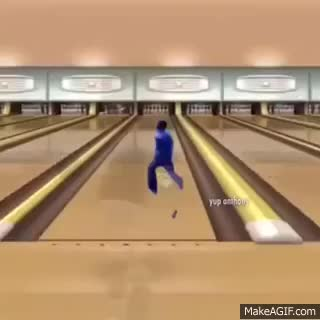 Watch and share Marty McFly Williams Goes Bowling Gif GIFs on Gfycat