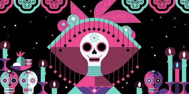 Watch and share ¡Prepárate Para El Día De Muertos! GIFs on Gfycat